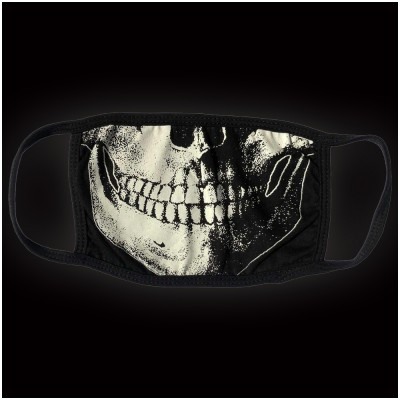 Kreepsville 666 - Skull Death White Face Mask