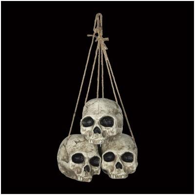 Hanging Skull Trio