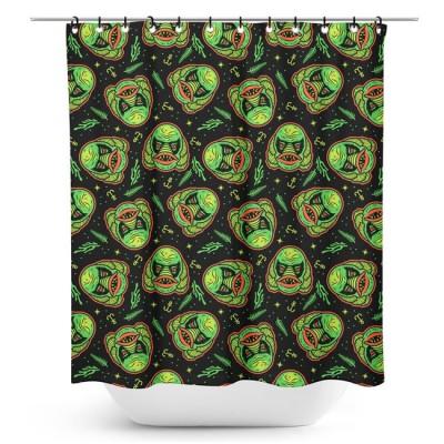 Sourpuss Creature Shower Curtain