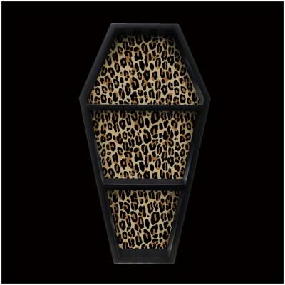 Sourpuss Leopard Coffin Shelf