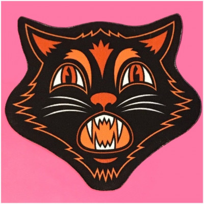 Sourpuss Scaredy Cat Rug