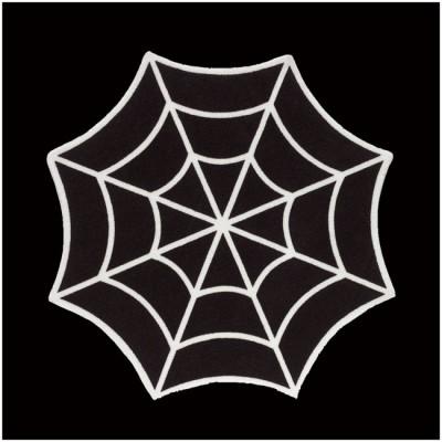 Sourpuss Spiderweb Rug