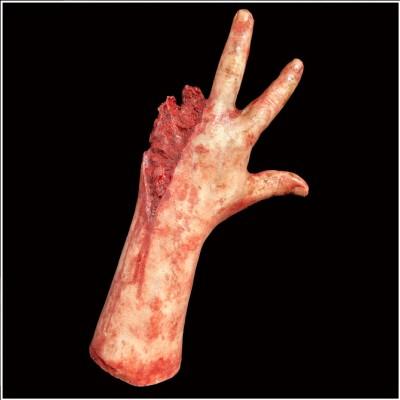 H40 Gunshot Silicone Hand