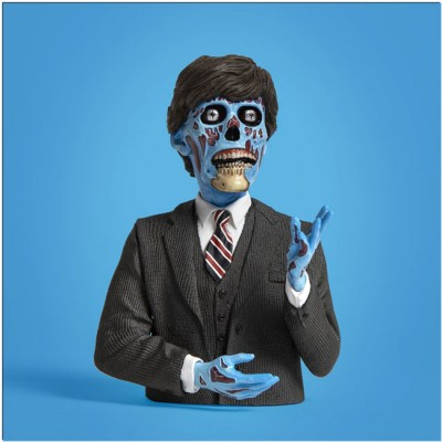 Waxwork Spinature - They Live - Politician