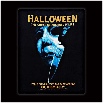 Spirit Halloween - Michael Myers - The Curse of Halloween Fleece Blanket
