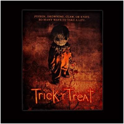 Spirit Halloween - Trick R Treat Sam Fleece Blanket