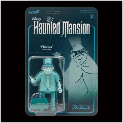 Super7 ReAction Figure - Disney Haunted Mansion, Phineas PRE ORDER