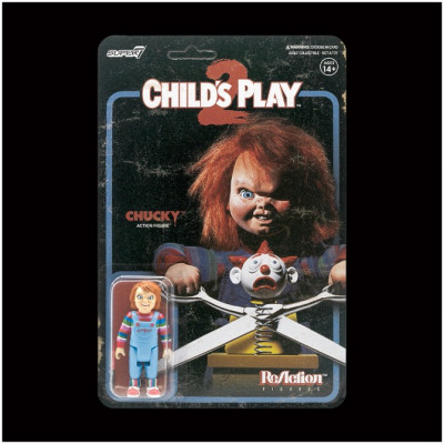 Super7 ReAction Figure - Evil Chucky