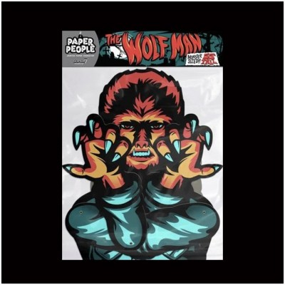 Super7 Universal Monsters Paper People - The Wolf Man