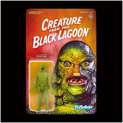 Super7 ReAction Figure - Universal Monsters - Creature from the Black Lagoon