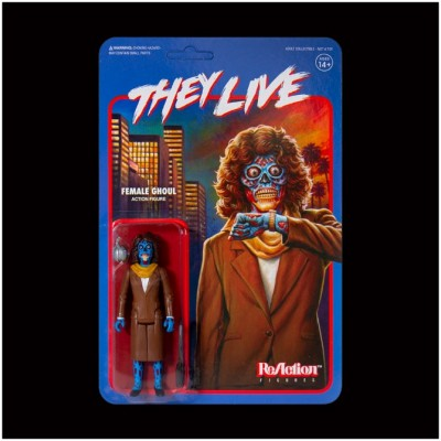 Super7 ReAction Figure - They Live - Female Ghoul