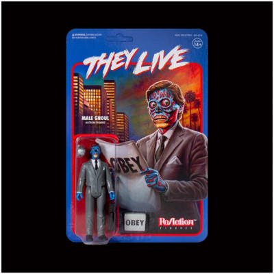 Super7 ReAction Figure - They Live - Male Ghoul