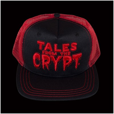 Kreepsville 666 Tales From The Crypt Red Baseball Hat