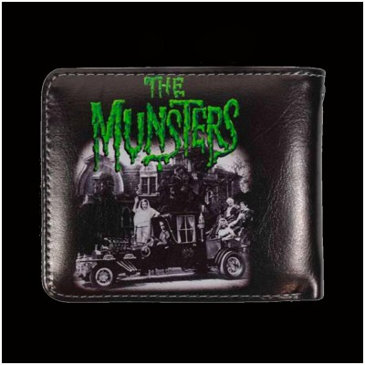 Munster Family Coach Bifold Wallet