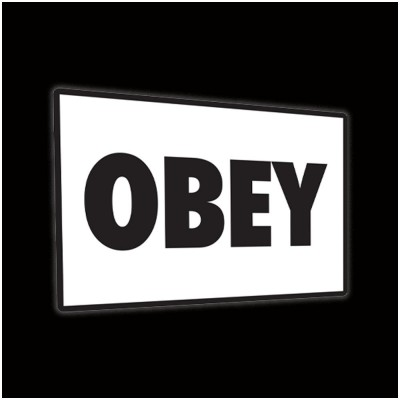 They Live - OBEY Metal Sign