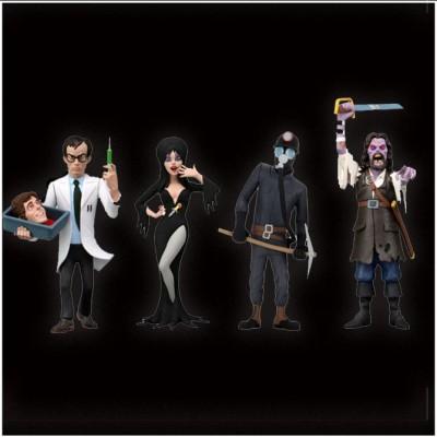 "NECA Toony Terrors 6"" Action Figures - Series 6 - Complete set (4 figures) PRE ORDER"