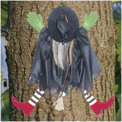 Tree Trunk Crashing Witch