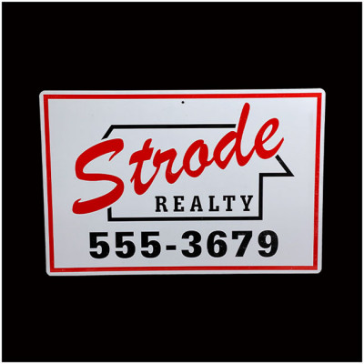 Halloween 1978 - Strode Realty Sign - PRE ORDER