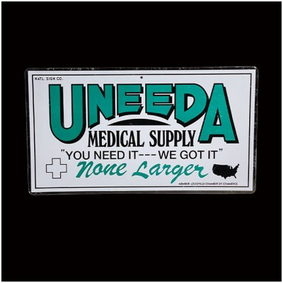 Return of the Living Dead - Uneeda Medical Supply Sign - PRE ORDER