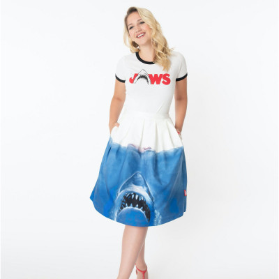 Unique Vintage Jaws Skirt
