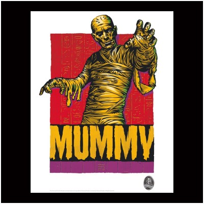 Limited Edition Universal Monsters Print - Mummy