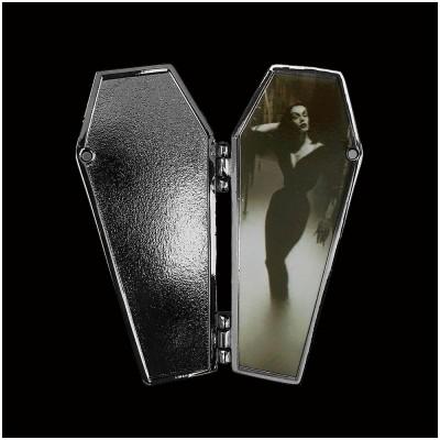 Vampira Open Coffin Mist Pin