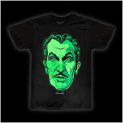 Vincent Price Classic Face T Shirt