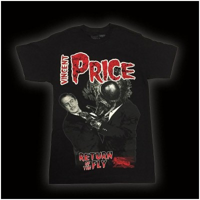 Vincent Price Return Of The Fly T-Shirt