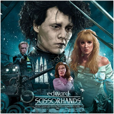 Waxwork Records Edward Scissorhands