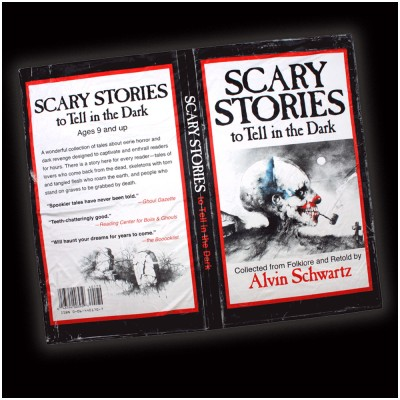 Creepy Co. Scary Stories Book Throw Blanket