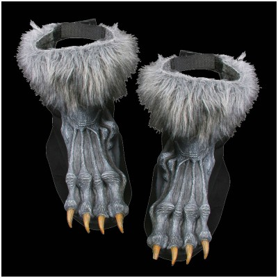 Grey Werewolf Feet