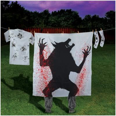 Bloody Werewolf Silhouette