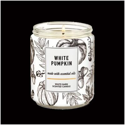 Bath & Body Works Single Wick Candle - White Pumpkin