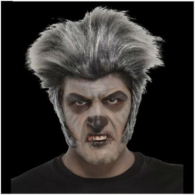 Grey Zombie / Werewolf Wig