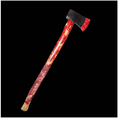 Long Bloody Tool Axe