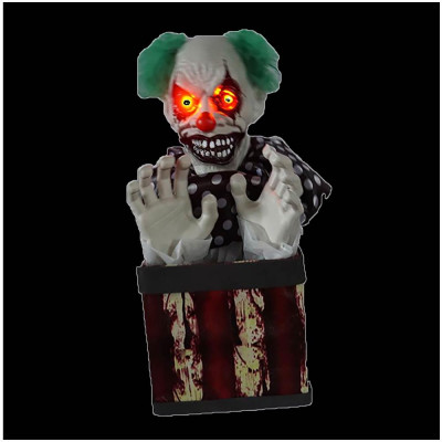 Animated Clown in a Box