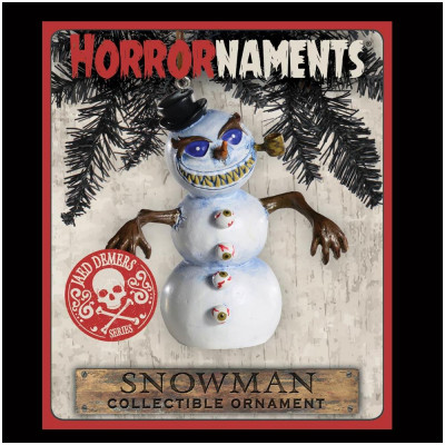 Horrornaments - Evil Snowman Christmas Ornament