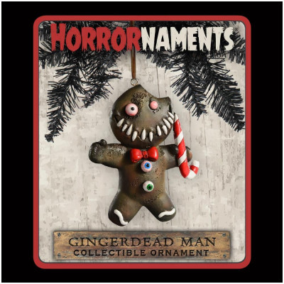 Horrornaments - Gingerdead Man Christmas Ornament