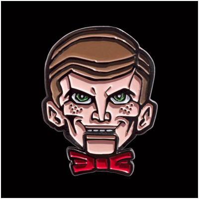 Goosebumps Slappy the Dummy Enamel Pin