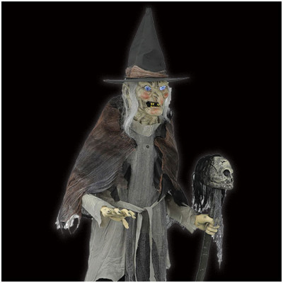 Lunging Witch with DIGITEYES Animated Prop - PRE ORDER