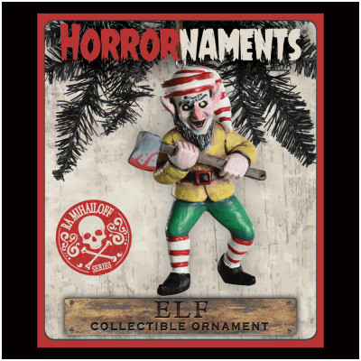 Horrornaments - Elf Christmas Ornament