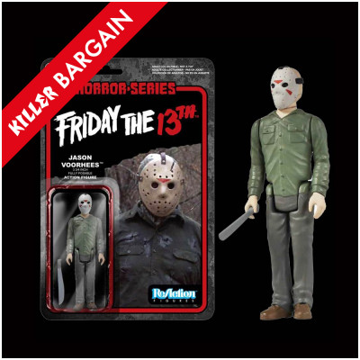 Funko Friday the 13th Jason Voorhees ReAction Figure - KILLER BARGAIN