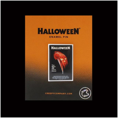 Halloween Replica Poster Pin