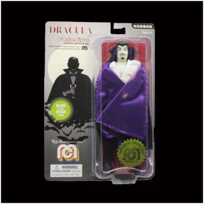 """Mego 8"""" Action Figure - Dracula Glow in the Dark"""