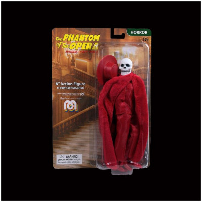 "Mego 8"" Action Figure - Phantom of the Opera, Masque of the Red Death - PRE ORDER"