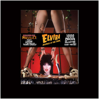 Elvira Jigsaw Puzzle Version A
