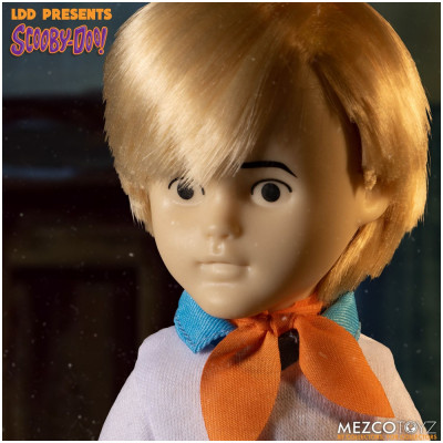 MEZCO Living Dead Dolls Scooby Doo Build-A-Figure: Fred - PRE ORDER