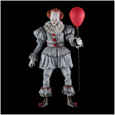 Neca IT (2017) 1/4 Scale Pennywise Action Figure (Bill Skarsgard)
