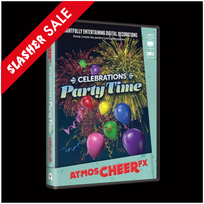 AtmosCHEERfx Celebrations Party Time DVD SALE