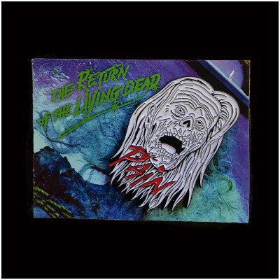 Return of the Living Dead Autopsy Pain Pin (Zombie Variant)